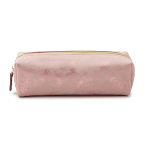ALL THAT GLITTERS PENCIL CASE - SATIN BLUSH