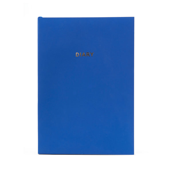 COLOURBLOCK™ A5 WTV Undated Diary - Royal Blue