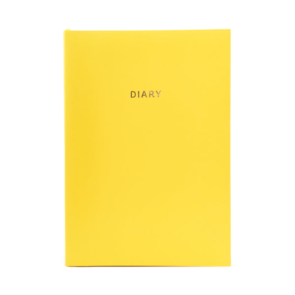COLOURBLOCK™ A5 WTV Undated Diary - Saffron