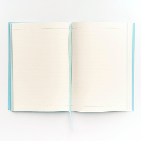 COLOURBLOCK™ A5 Notebook -  Aqua