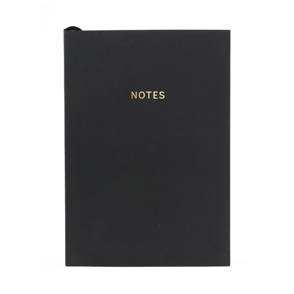COLOURBLOCK™ A5 Notebook -  Black
