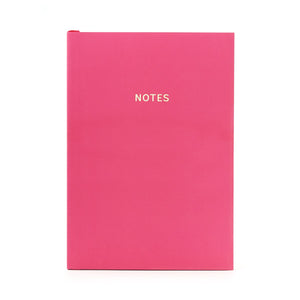 COLOURBLOCK™ A5 Notebook -  Cerise Pink