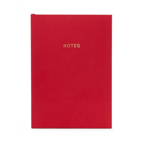 COLOURBLOCK™ A5 Notebook -  Chilli Pepper