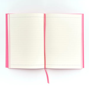 COLOURBLOCK™ A5 RULED NOTEBOOK CANDY-PINK
