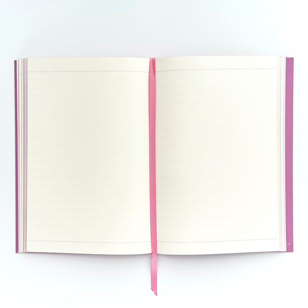 COLOURBLOCK™ A5 Personalised Notebook - Mulberry