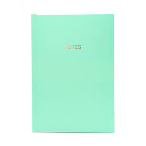 COLOURBLOCK™ A5 RULED NOTEBOOK NEO-MINT