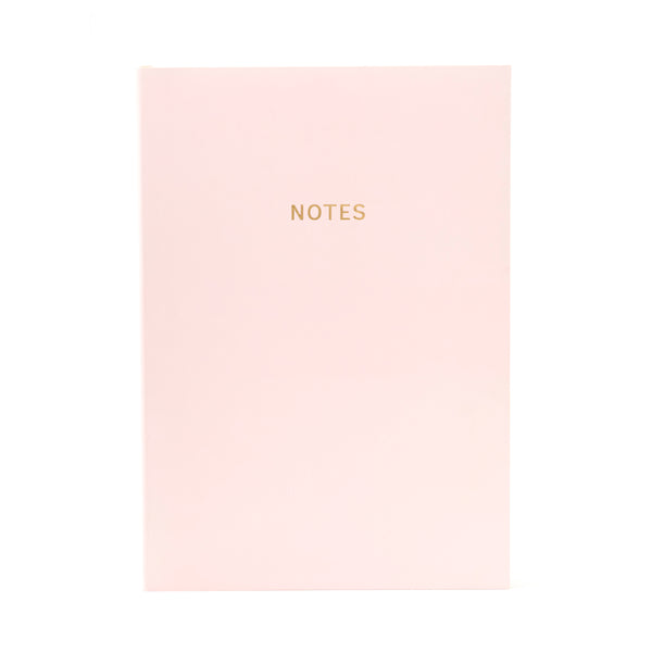 COLOURBLOCK™ A5 Notebook - Pink Champagne