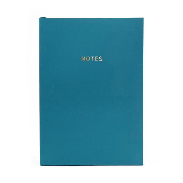 COLOURBLOCK™ A5 Notebook -  Peacock