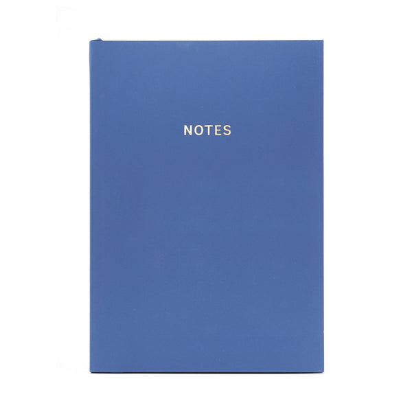 COLOURBLOCK™ A5 Notebook -  Royal Blue