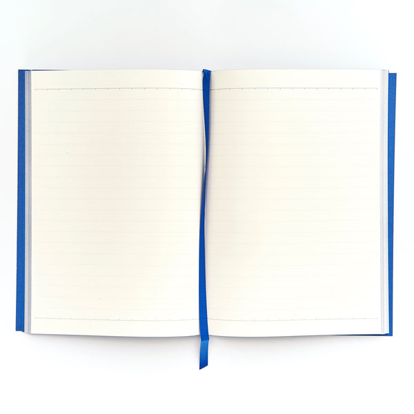 COLOURBLOCK™ A5 Personalised Notebook - Royal Blue