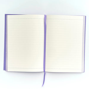 COLOURBLOCK™ A5 RULED NOTEBOOK SWEET VIOLET