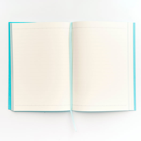 COLOURBLOCK™ A5 Notebook -  Teal