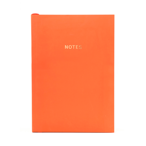 COLOURBLOCK™ A5 RULED NOTEBOOK VIVID-CORAL