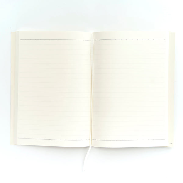 COLOURBLOCK™ A5 Personalised Notebook - Paper White