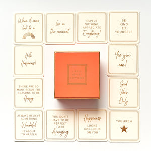 "COLOURBLOCK™ ""LITTLE BOX OF HAPPINESS"" SENTIMENT NOTECARDS"