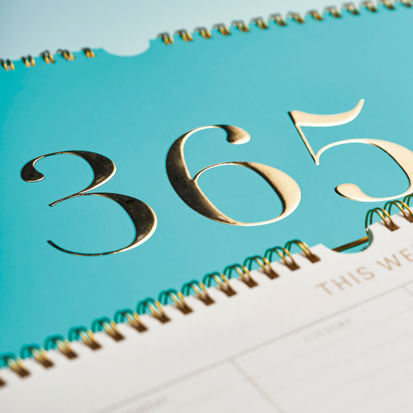 Large Weekly Planner - Teal 365