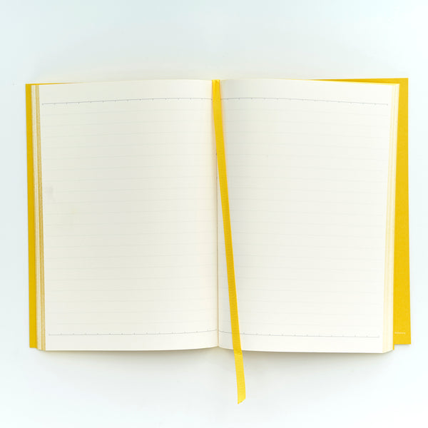 COLOURBLOCK™ A5 Notebook -  Saffron