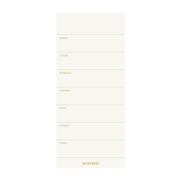 COLOURBLOCK™ To Do List - Saffron