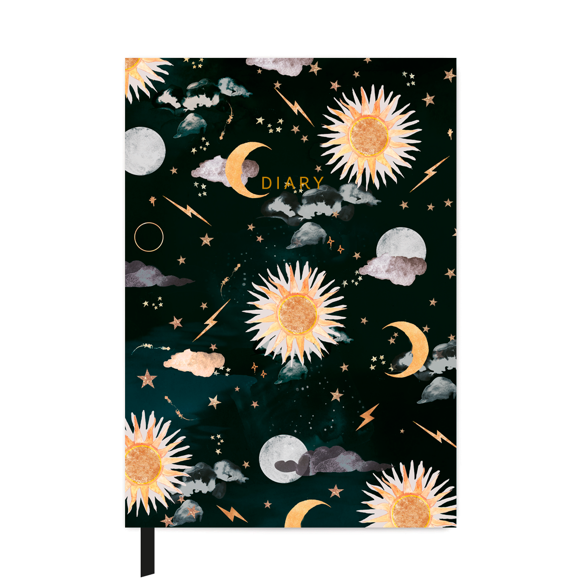 NIKKI STRANGE A5 Special Edition Mid Year Diary 2020/21 - Solis & Luna
