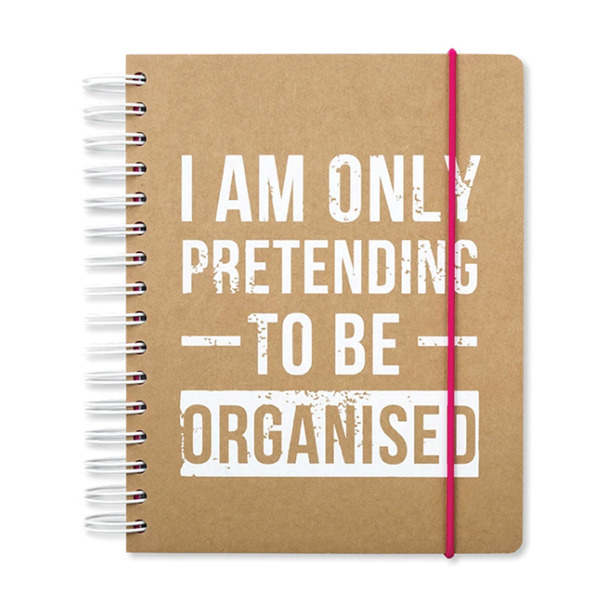 A5 Undated Diary Planner - I Am Only Pretending