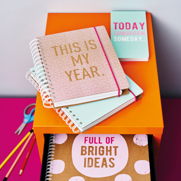 A5 Undated Diary Planner - This is My Year