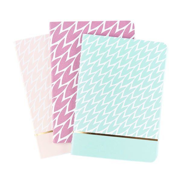 LAURA JACKSON Set of 3 A6 Notebook