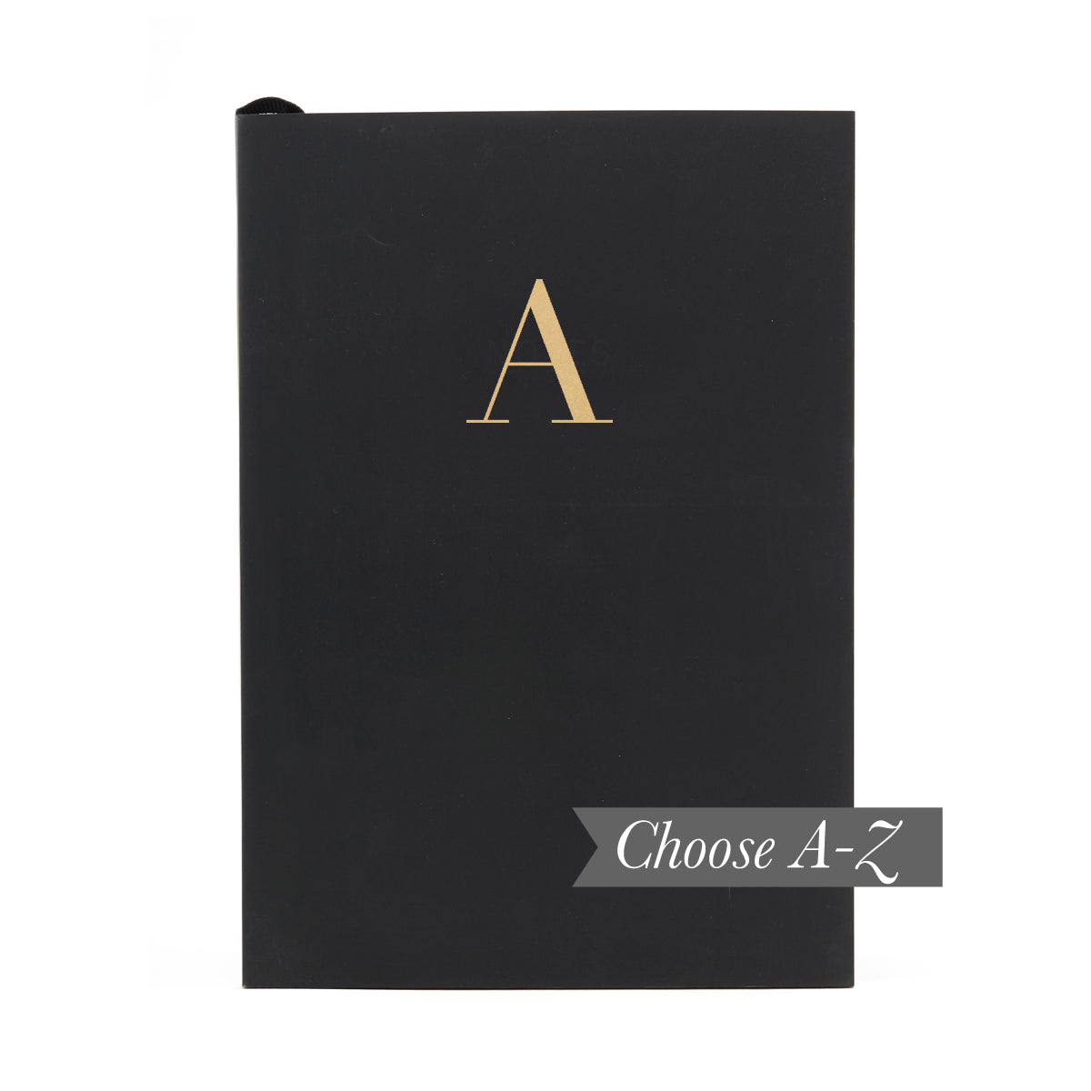 MONOGRAM A5 Notebook - Black
