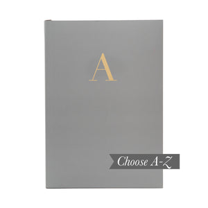 MONOGRAM A5 Notebook - Granite