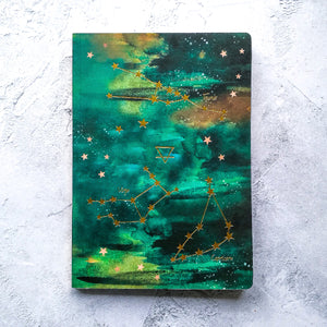 Nikki Strange Elements A5 Notebook - EARTH