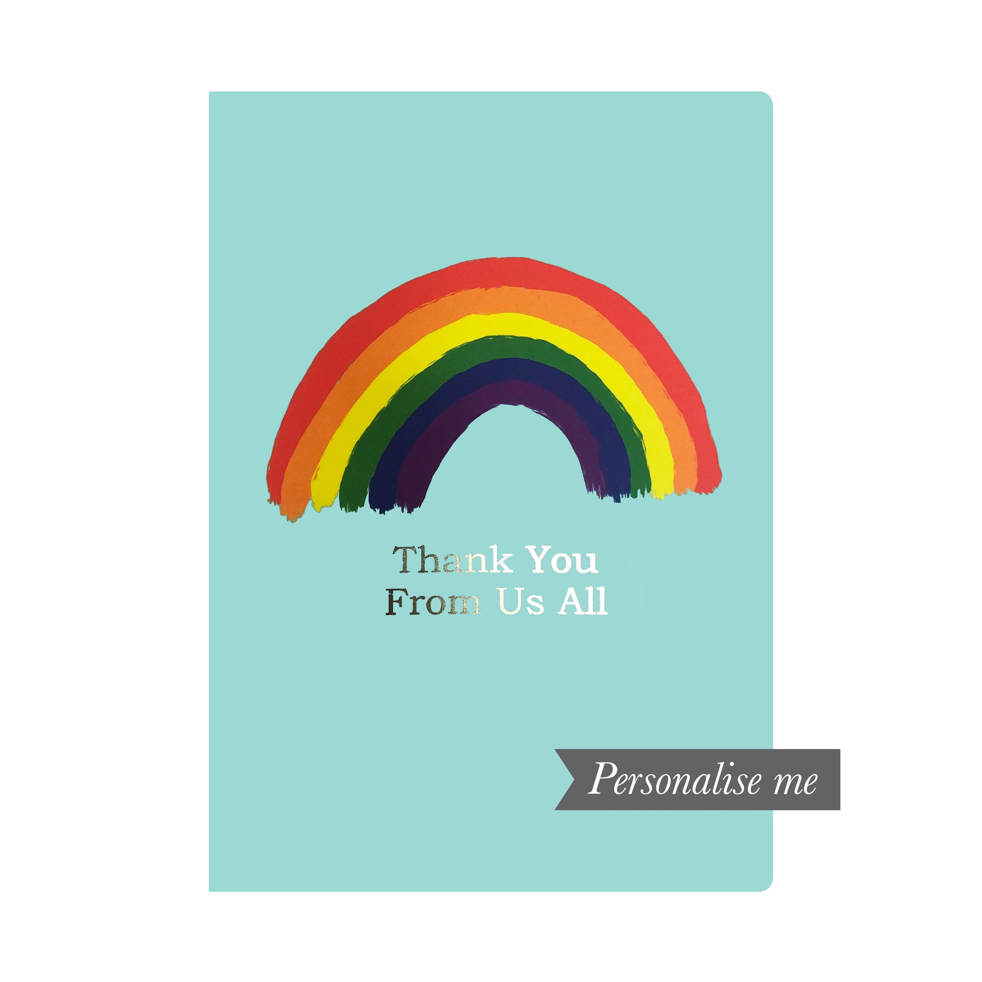 A5 Personalised Notebook - Rainbow
