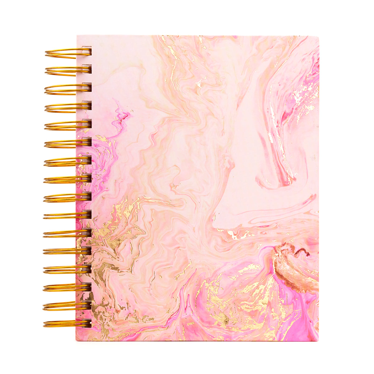A5 Undated Diary Planner - Rose Quartz