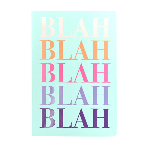 SLOGAN A5 Notebook - Blah Blah Blah