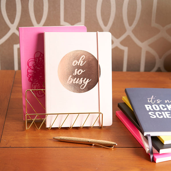SLOGAN A5 Notebook - Oh so busy