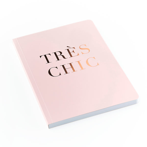 SLOGAN A5 Notebook - Tres Chic