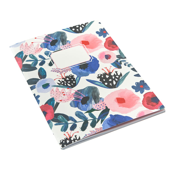 MIX & MATCH Exercise Book - Painterly Floral