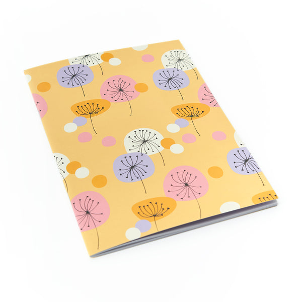 MIX & MATCH Exercise Book - Retro Floral