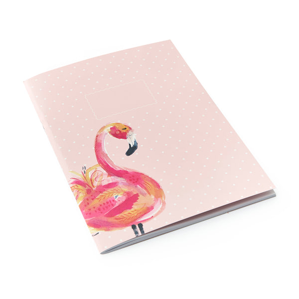 MIX & MATCH Exercise Book - Painterly Flamingo