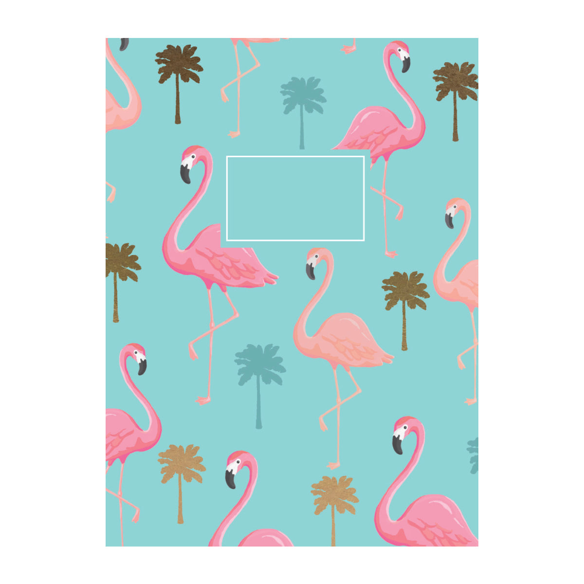 MIX & MATCH Exercise Book - Flamingo Palm