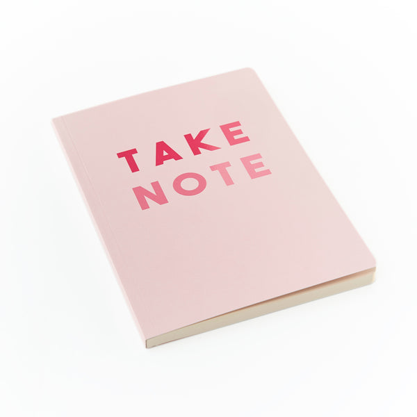 SLOGAN A5 Notebook - Take Note