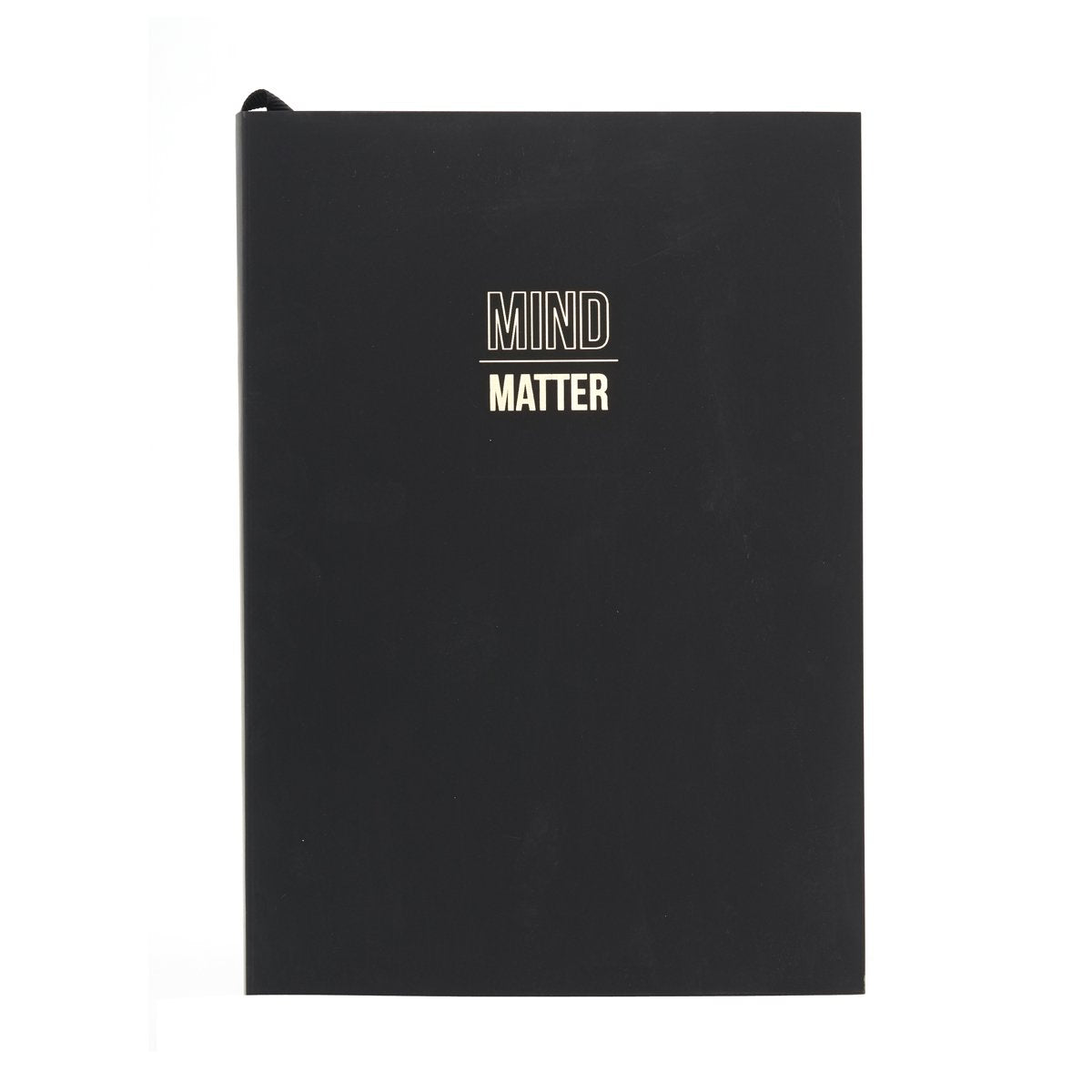"WORDSMITH ""MIND OVER MATTER"" A5 NOTEBOOK"