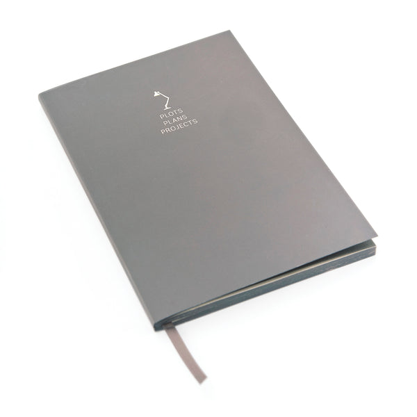 WORDSMITH A5 Notebook - Plots Plans Projects