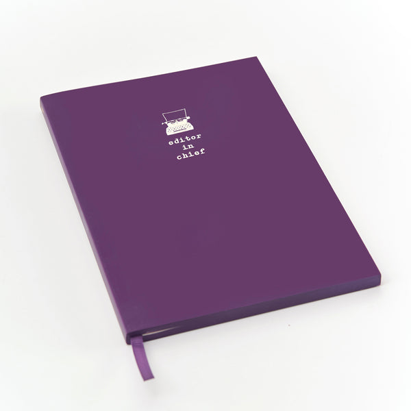 WORDSMITH A5 Notebook - Editor in Chief