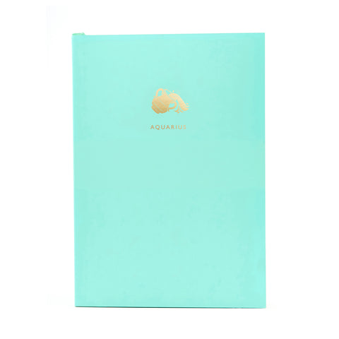 ZODIAC A5 Notebook - Aquarius
