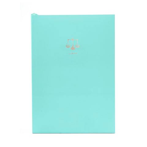 ZODIAC A5 Notebook - Libra