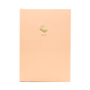 ZODIAC A5 Notebook - Pisces
