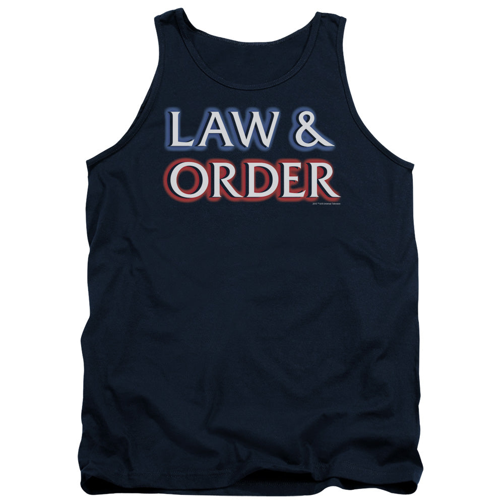 Law And Order - Logo Tank