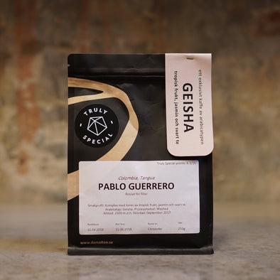 Coming back soon: Colombia - Pablo Guerrero - Geisha