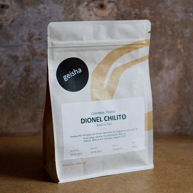 Colombia - Dionel Chilito - Washed Geisha