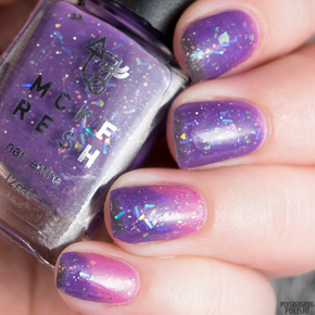 Mckfresh Candy of the Damned Nail Polish