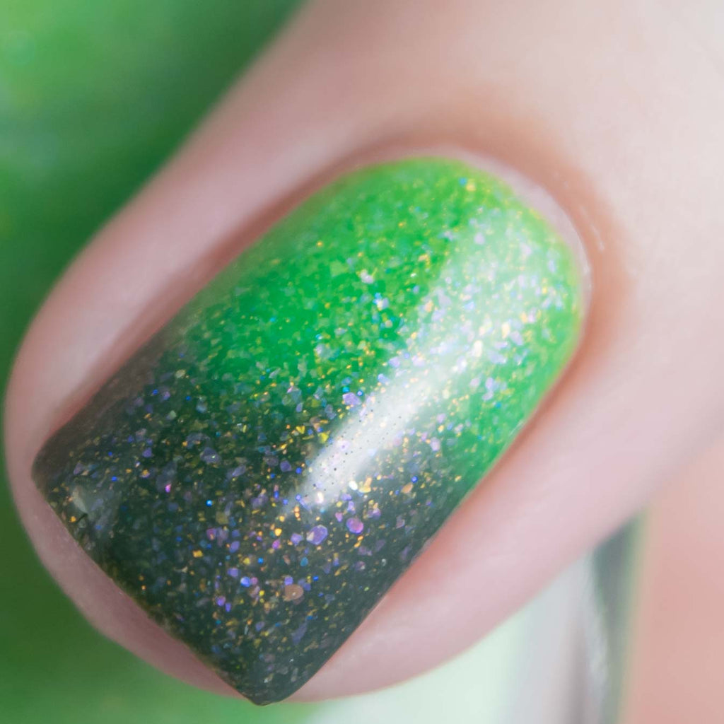 Mckfresh Grass Is Greener Nail Polish